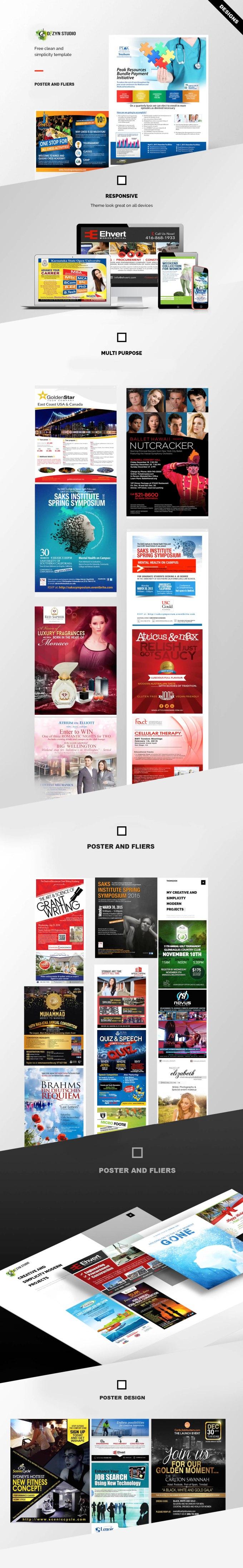 portfoilio posters